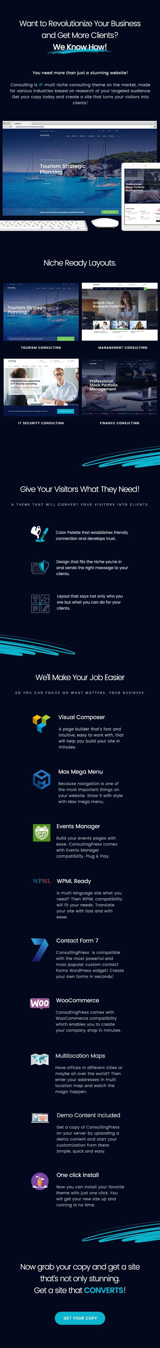 ConsultingPress Multi Niche Consulting HTML Template