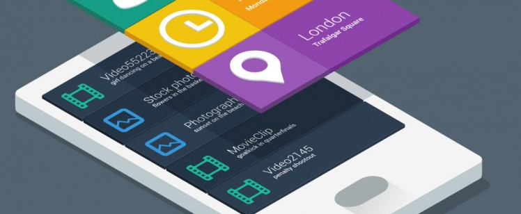 Colorful Application design